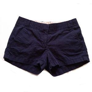 🔥J Crew Navy Blue Broken In Chino Shorts